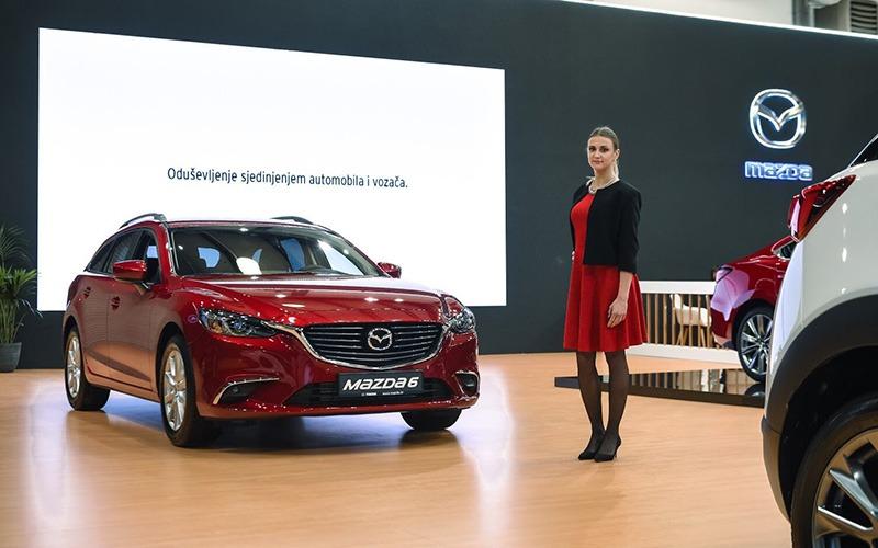 AMS Mazda Štand